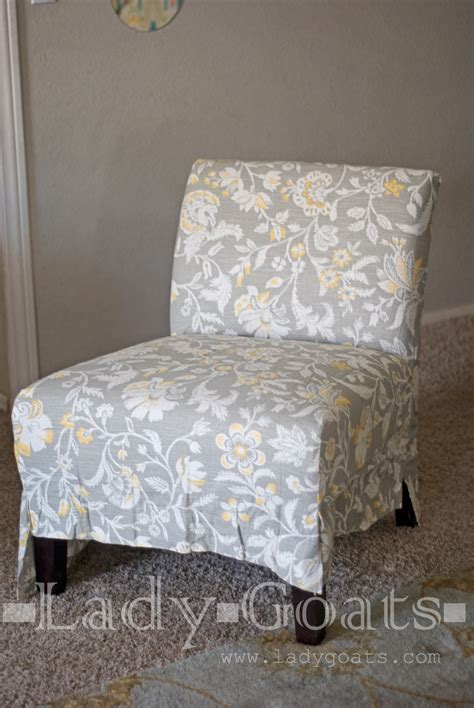 armless chair slipcover sewing pattern goats diy slipper chair slipcover without a template
