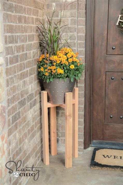 woodworking plans diy plant stand