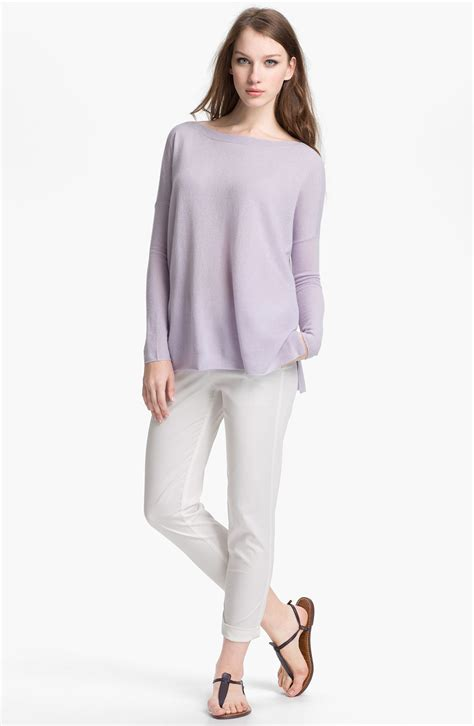 lilac sweater vince sweater in purple lilac lyst