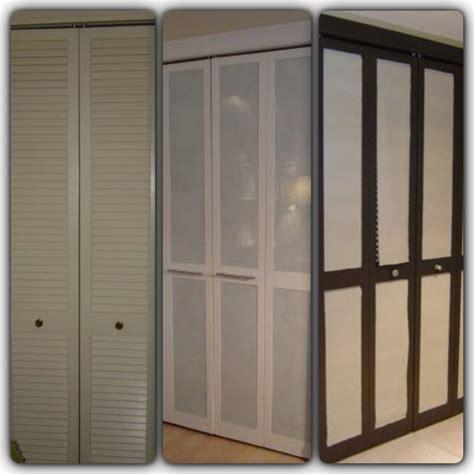 Replace Folding Closet Doors by Idea For Bi Fold Doors Remove The Slats