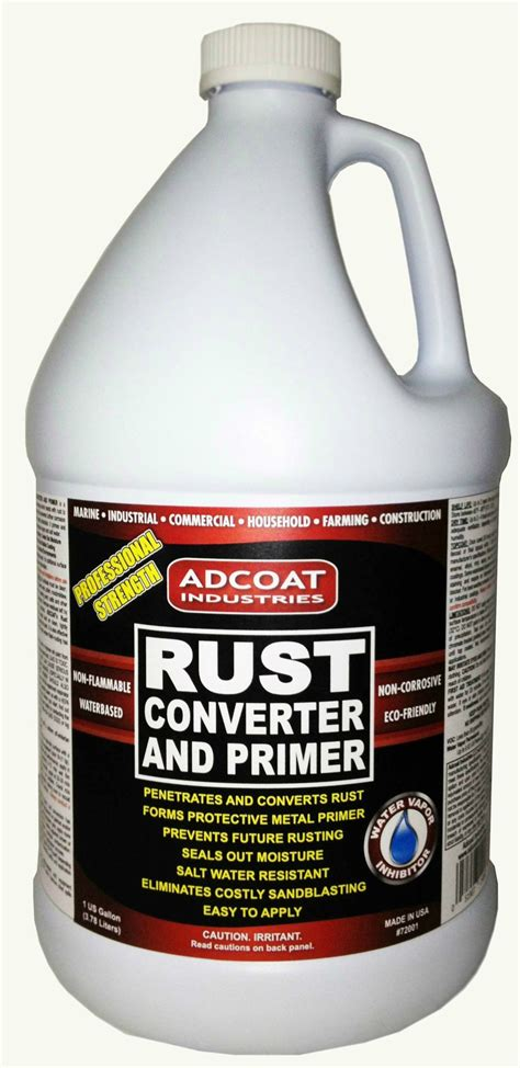 rust converter primer gallon metal step surface remove corroseal paint marine based water