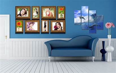 Wallpapers Furniture Interior Sofa Living Polyptych Background