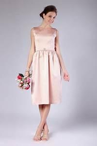 Robe Mi Longue Mariage : robe rose mi longue r tro dos chancr u pour mariage d 39 t ~ Melissatoandfro.com Idées de Décoration