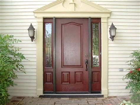 Exterior Doors With Sidelights Design — Home Ideas Collection