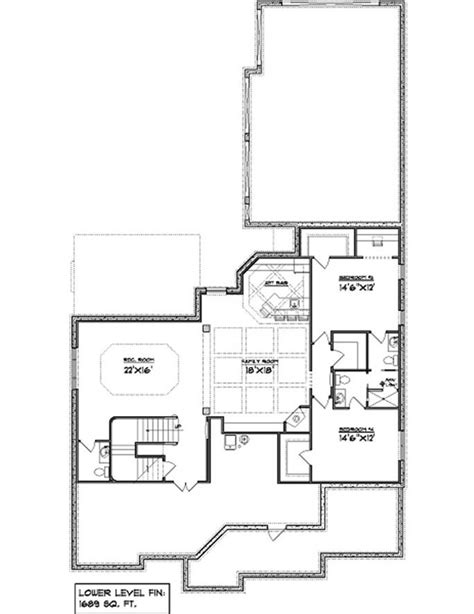 square feet house plans  basement house design ideas