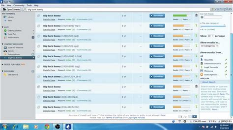 vuze search how to search open and torrents with vuze bittorrent client 5 0