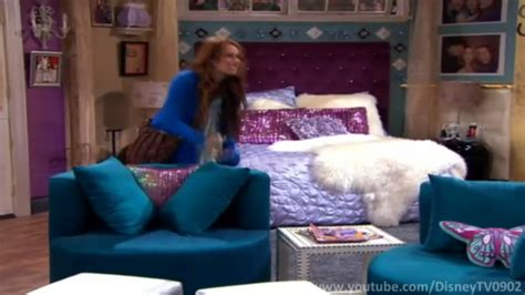 mileys bed  hannah montana  sleep space