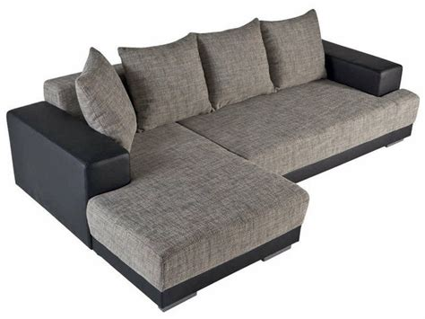 canapé d angle gris et noir canapé convertible d 39 angle gauche toast coloris noir gris vente de canapé d 39 angle conforama