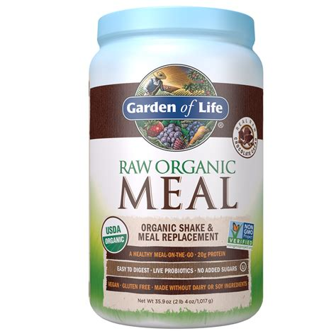 Garden Of Products by Organic Meal Shake Meal Replacement Garden Of