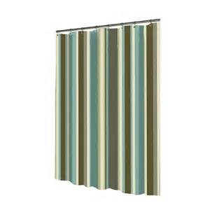 Lowes Com Curtains by Shop Allen Roth Polyester Multicolor Striped Shower