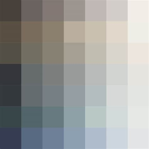chambre et taupe nuancier carte des couleurs mauvilac industries