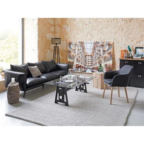 stühle mit stoffbezug sessel mit anthrazitfarbenem stoffbezug arnold maisons du monde