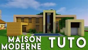 Maison En L Moderne : minecraft tuto construction maison moderne en bois youtube ~ Melissatoandfro.com Idées de Décoration