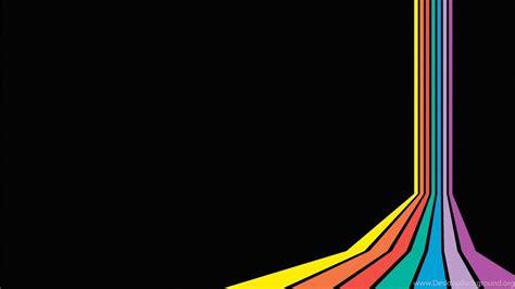 left rainbow backgrounds  powerpoint colors