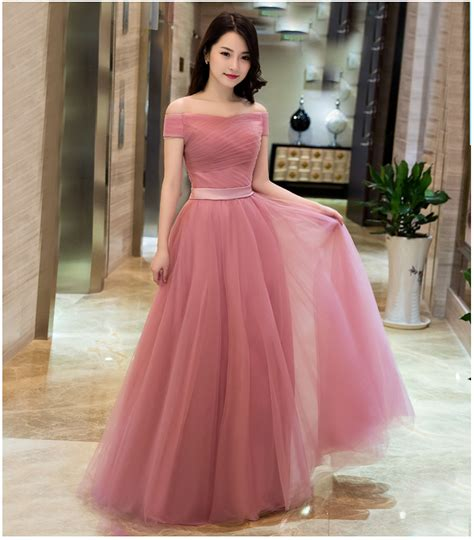 Buy 2016 New Dusty Pink Cheap Bridesmaid