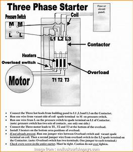 240v Motor Starter Wiring Diagram Simple Air Compressor Magnetic Starter Wiring With Alternator