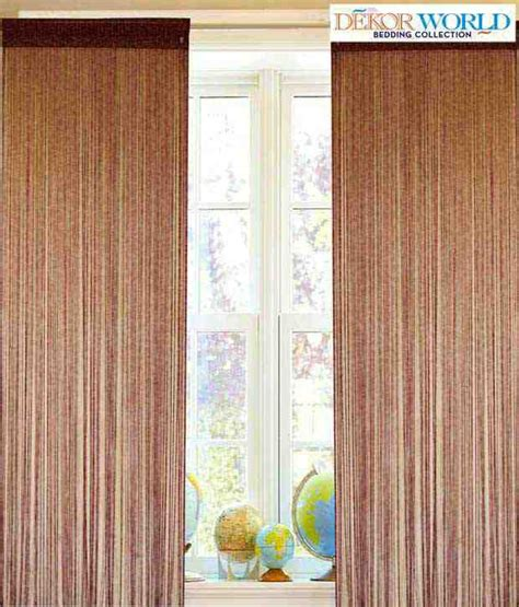 dekor world curtains dekor world stunning brown string curtain buy dekor
