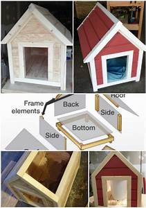 15 brilliant diy dog houses with free plans for your furry With easy diy dog house