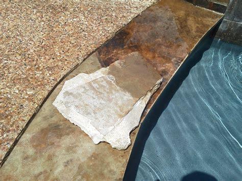 sealing flagstone rock flagstone sealant protection the pool scrubbers