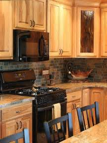 slate backsplashes for kitchens brown slate mosaic backsplash tile for traditional kitchen