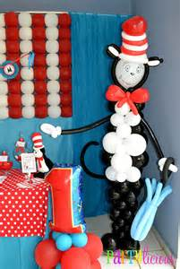 cat in the hat birthday partylicious the cat in the hat 1st birthday