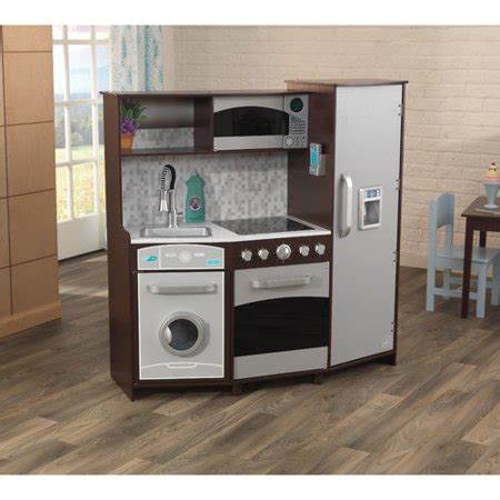 Kitchen Play Set by Kidkraft Large Play Kitchen Set Walmart