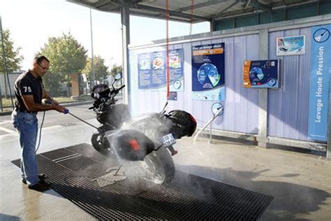 station de lavage automatique deux roues el 233 phant bleu