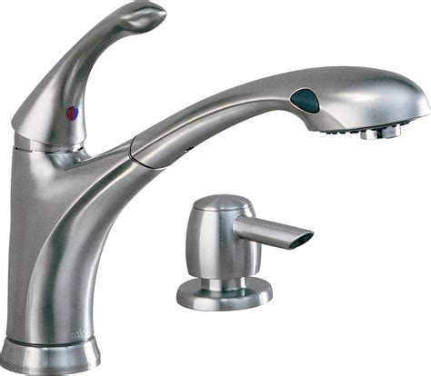 Single Handle Pull Out Kitchen Faucet by Delta Single Handle Pullout Kitchen Faucet Parts Wow