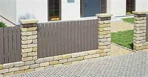 Gartenzaun Aus Beton : zaun sichtschutz selber bauen obi gartenplaner ~ Sanjose-hotels-ca.com Haus und Dekorationen