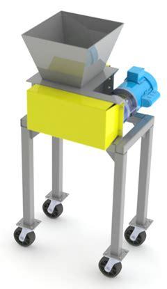 cannabis shredder model mj  compactors
