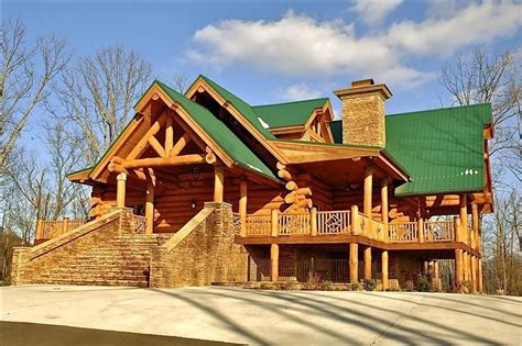 luxury cabins gatlinburg tn gatlinburg cabin rental wilderness lodge luxury log