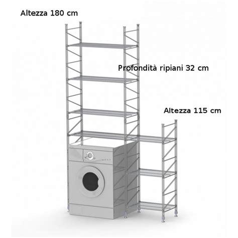 scaffale componibile scaffale componibile modulo lavatrice 32xh180