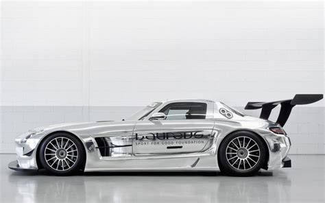 2010 sls amg gt3 laureus 05 mercedes wallpaper mb