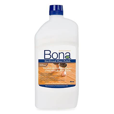 Bona® Hardwood Floor Polish Low Gloss  36 Oz  Bed Bath