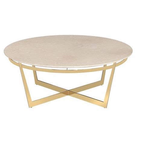 round gold coffee table alexys cream marble round gold coffee table kathy kuo home