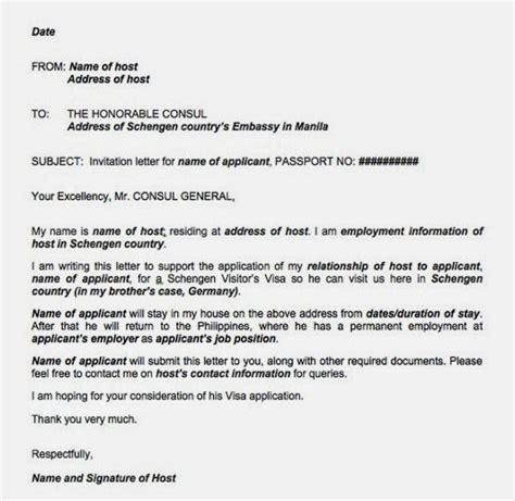 proof  accommodation sample letter travelvisaguru