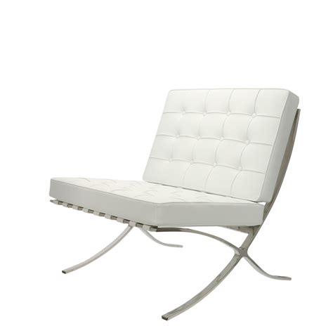 The barcelona chair is a modern classic. Barcelona chair white   POPfurniture.com