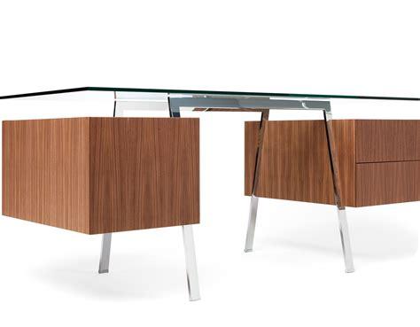 glass top desks homework 2 desk with glass top hivemodern