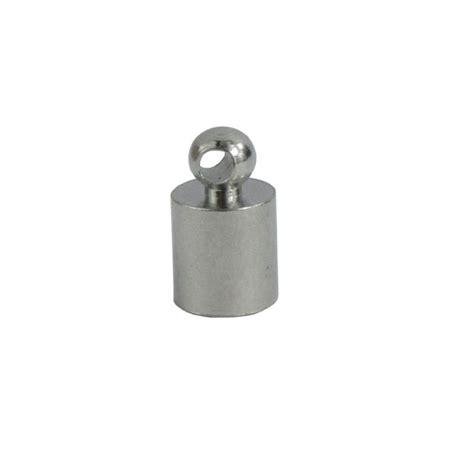 edelstahl rundstahl 6 mm 10 x edelstahl endkappen 7x12 mm 6 mm