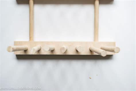 clever ways  organise  kitchen  wooden dowels plate racks  kitchen plate racks