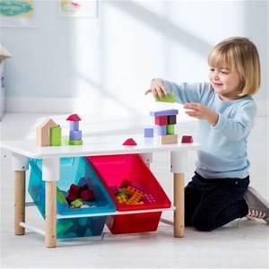 Table Enfant Avec Rangement : rangement jeux et jouets chambre enfant coffre jouets bac bo te etag re meuble malle ~ Melissatoandfro.com Idées de Décoration