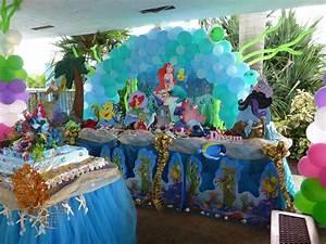 Little Mermaid Birthday Party Ideas Photo 51 of 105