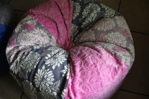 child size bean bag chair diy tutorial crafty gemini