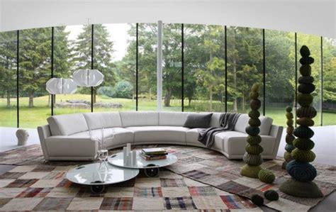 canap demi cercle canapé design par roche bobois en 30 idées magnifiques