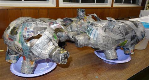 dragon   art room papier mache  begun