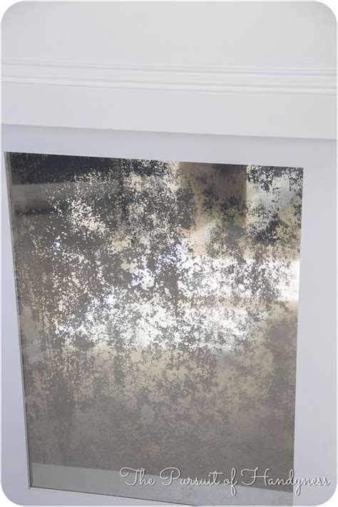 1000 ideas about distressed mirror on