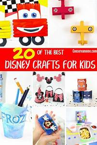 conservamom 20 of the best disney crafts for