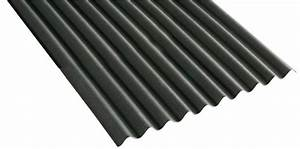 Tole De Bardage Brico Depot : plaque ondul e noire ep 2 6 cm 950x2000 cm brico d p t ~ Melissatoandfro.com Idées de Décoration