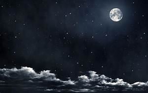 Moon And Stars Backgrounds - Wallpaper Cave