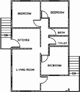 Floor Plan Of A Private Single